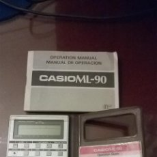 Vintage: CALCULADORA CASIO ML-90. Lote 47152428