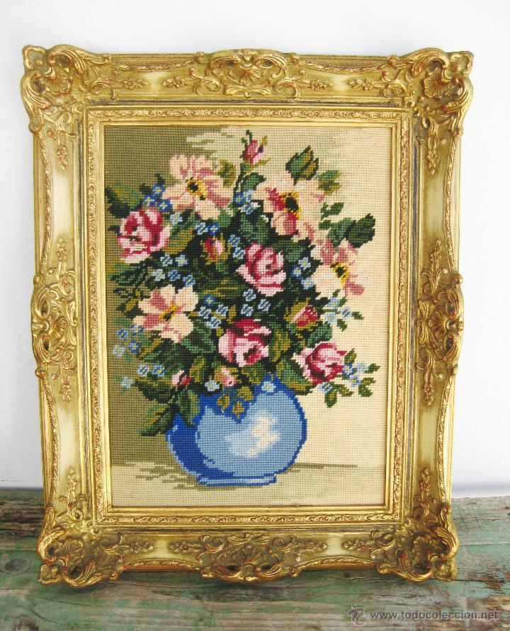 Precioso marco para espejo fotografia o pintura comprar - Pintura dorada para madera ...