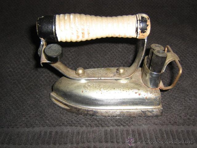 PLANCHA ELECTRICA ANTIGUA (Vintage - Decoración - Varios)