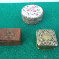 Vintage: 3 PEQUEÑAS CAJAS. Lote 47396597