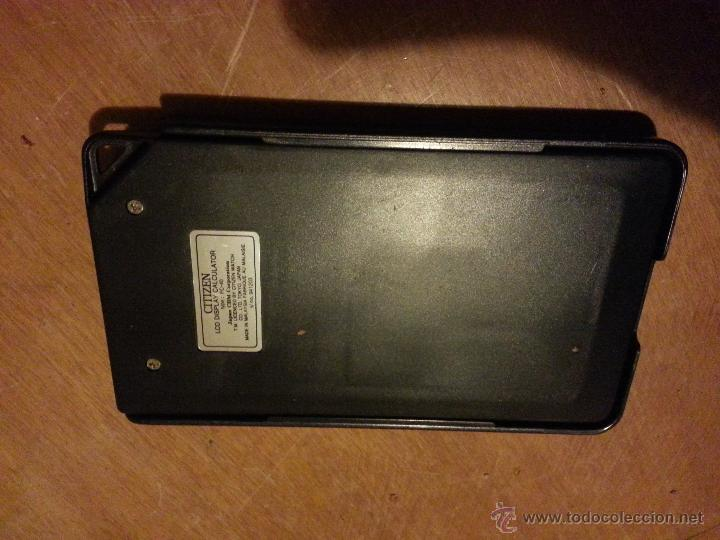 Vintage: calculadora solar citizen fc-40 electronic calculator - Foto 2 - 47424814
