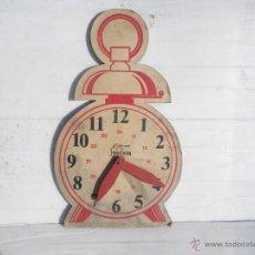 Vintage: RELOJ DE PROPAGANDA , DECORACCION , AÑOS 50 ... VER. Lote 47450441
