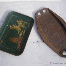Vintage: LOTE DE 2 BANDEJAS VINTAGE , AÑOS 40 Y 60. Lote 47451307