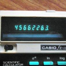 Vintage: ANTIGUA CALCULADORA CASIO FX-11 FUNCIONANDO. Lote 47473649