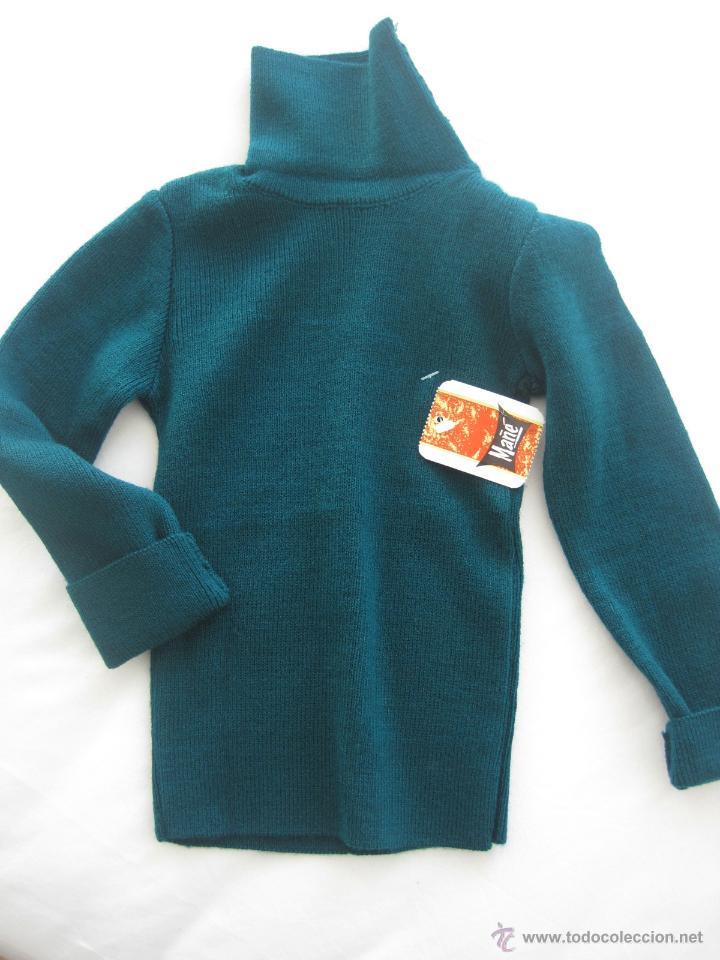46dba74da Vintage  jersey NIÑO niña cuello cisne años 70-- VINTAGE--ETIQUETADO-