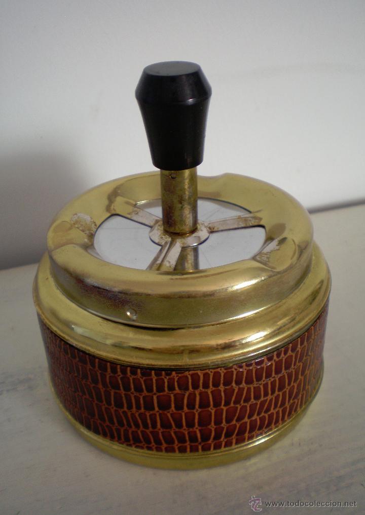 Vintage: CENICERO DE MESA CON PULSADOR VINTAGE - Foto 2 - 47512123