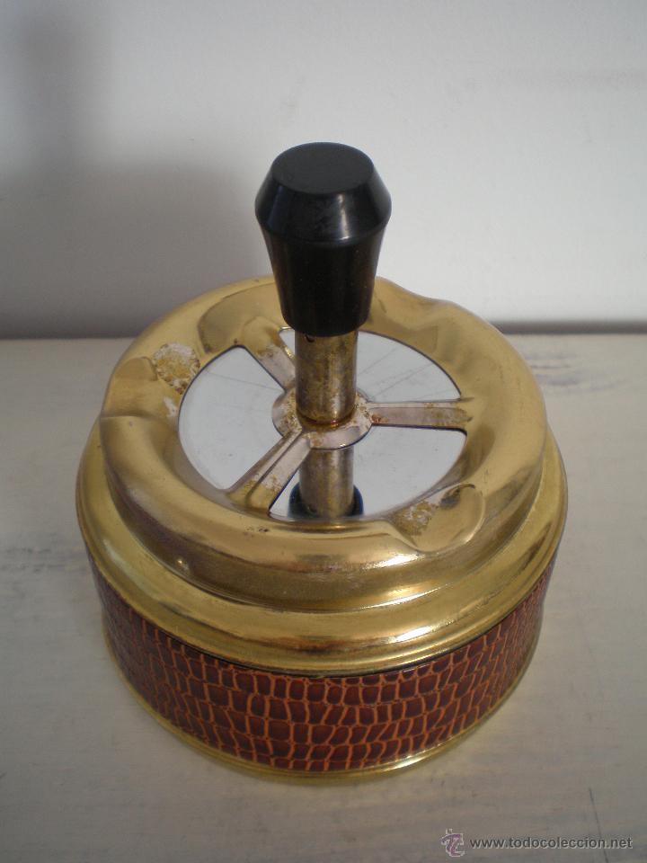 Vintage: CENICERO DE MESA CON PULSADOR VINTAGE - Foto 3 - 47512123