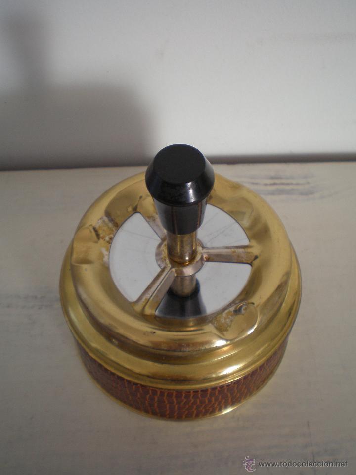 Vintage: CENICERO DE MESA CON PULSADOR VINTAGE - Foto 4 - 47512123
