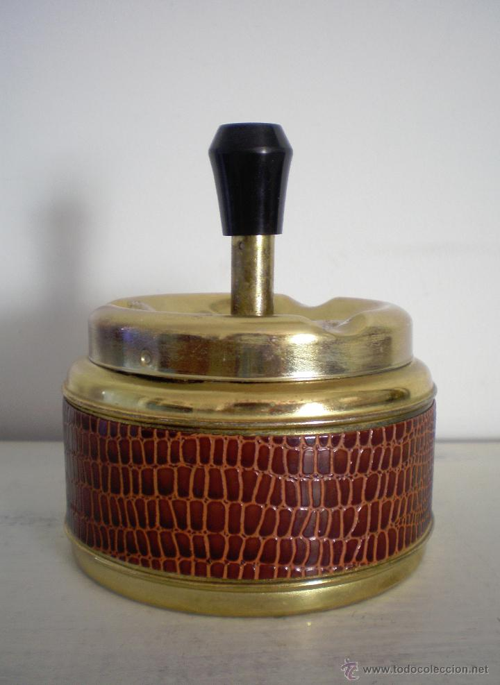Vintage: CENICERO DE MESA CON PULSADOR VINTAGE - Foto 6 - 47512123
