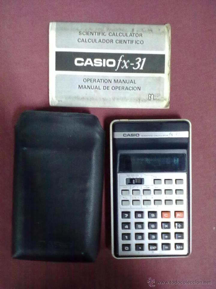 CALCULADORA CASIO FX-31 SCENTIFIC CALCULATOR (Vintage - Varios)