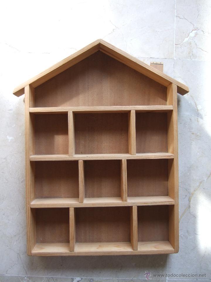 Casillero de madera 10 casillas 36x25 par comprar for Casillas de madera precios