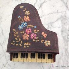 Vintage: CAJA PIANO - JOYERO MUSICAL. Lote 54503693