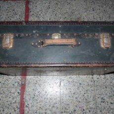 Vintage: ANTIGUA MALETA.ARTICULO DE VIAJE BERNARDO FRIAS, BARCELONA. Lote 48211838