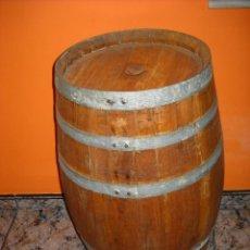 Vintage: BARRICA, BOTA, BARRIL DE MADERA. APTA PARA GUARDAR VINO O DECORACIÓN. Lote 48212479