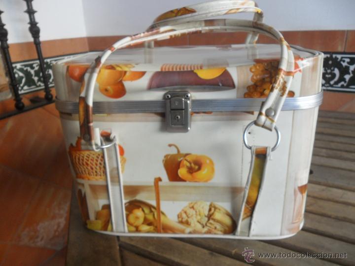Antigua nevera con decoracion a os 70 vintage comprar en - Comprar decoracion vintage ...