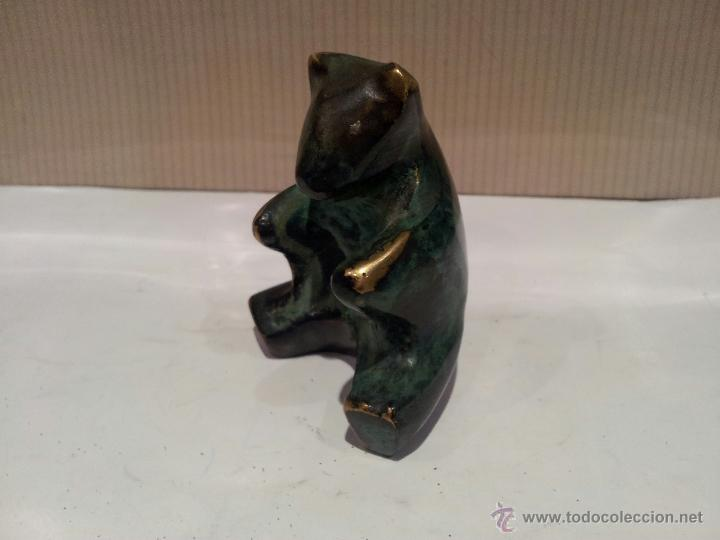 Vintage: oso en metal bronce o similar ver fotos - Foto 2 - 48520688