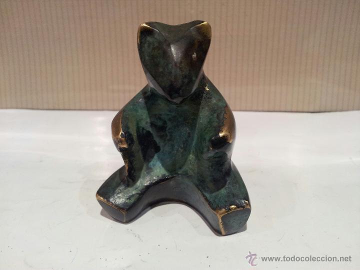 Vintage: oso en metal bronce o similar ver fotos - Foto 3 - 48520688