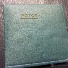 Vintage: ANTIGUO ALBUM DE FOTOGRAFIAS DE BOLSILLO VINTAGE. MIDE APROX 9X9CM. DESPLEGADO MIDE 190CM. ACORDEON. Lote 48529038