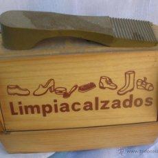 Vintage: CAJA LIMPIA CALZADOS LIMPIA ZAPATOS VINTAGE. Lote 48576197