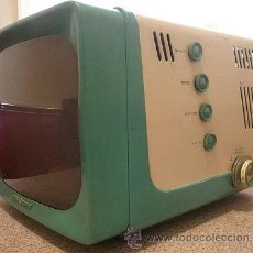Vintage: TELEVISOR PORTATIL MODELO:14T017 - GENERAL ELECTRIC, 1958. Lote 48620342
