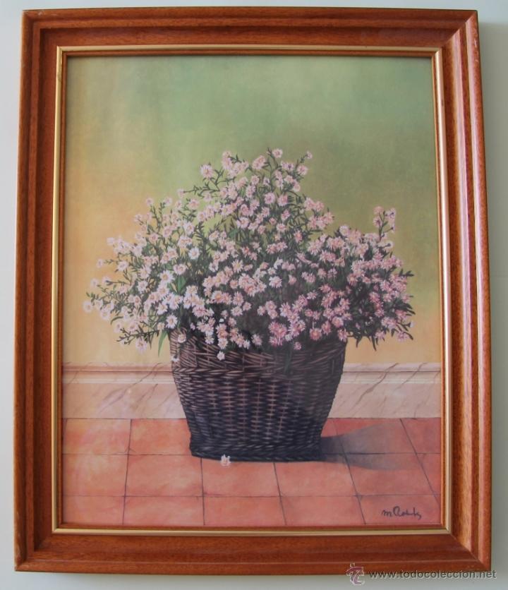 Decorativo cuadro composicion de flores rosaseo comprar - Composicion de cuadros ...