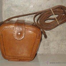 Vintage: PEQUEÑA FUNDA,BOLSO,BOLSITO DE CUERO O PIEL LEGITIMA.. Lote 48938644