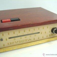 Vintage: ANTIGUO CONVERTIDOR UHF - INVICTA - VHF TV TELEVISION ANTENA - AÑOS 50 60. Lote 167008109