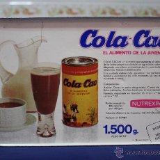 Vintage: LATA COLACAO ILUSTRACIONES TABACO, AÑOS 60. Lote 49143463