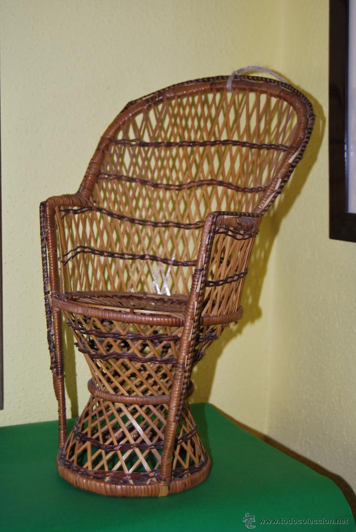 Sill n emmanuelle silla de mimbre 38 cent m comprar - Sillon emmanuelle ...