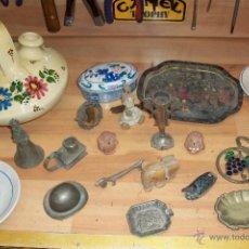 Vintage: LOTE DE 21 PIEZAS-BOTIJO-BANDEJAS-CENICEROS-PLATOS, ABRIDORES,ETC. Lote 49474071