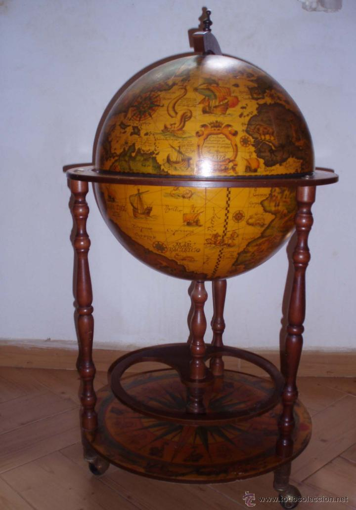 carrito botellero bola del mundo comprar en
