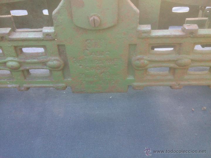 Vintage: ANTIGUA BALANZA BASCULA hierro fundido forja 10KG - Foto 3 - 49579201