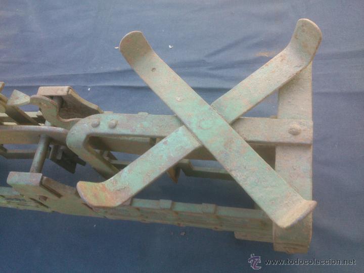 Vintage: ANTIGUA BALANZA BASCULA hierro fundido forja 10KG - Foto 4 - 49579201
