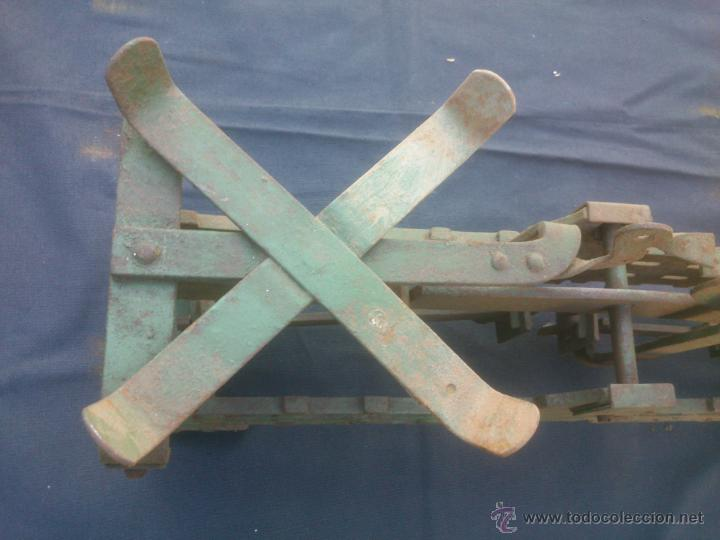 Vintage: ANTIGUA BALANZA BASCULA hierro fundido forja 10KG - Foto 5 - 49579201