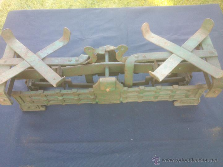 Vintage: ANTIGUA BALANZA BASCULA hierro fundido forja 10KG - Foto 7 - 49579201