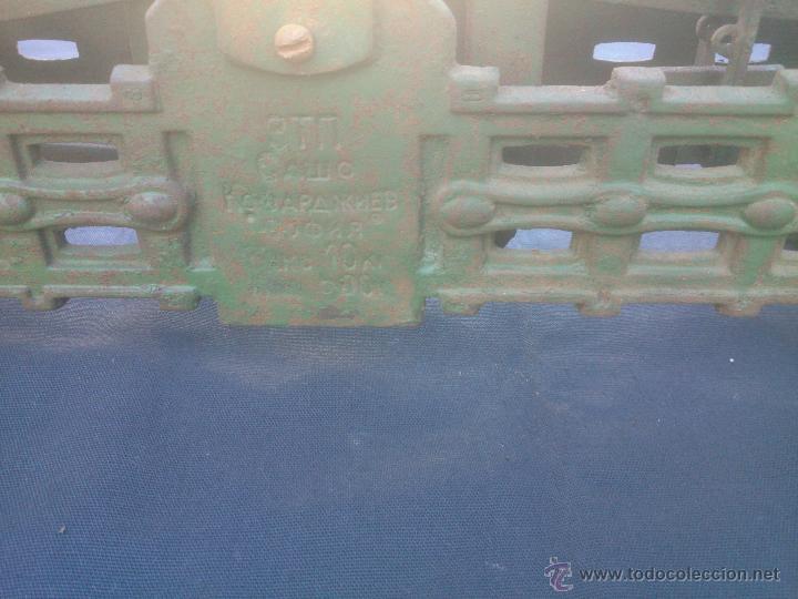 Vintage: ANTIGUA BALANZA BASCULA hierro fundido forja 10KG - Foto 9 - 49579201