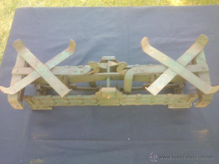 Vintage: ANTIGUA BALANZA BASCULA hierro fundido forja 10KG - Foto 10 - 49579201
