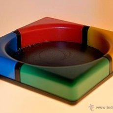 Vintage: PORTA-CLIPS(MAGNETICO)EN PLASTICO DISEÑO-TINO DESIGN UK. Lote 49583572