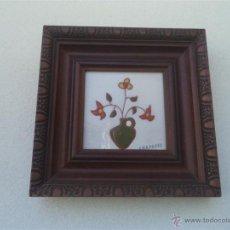 Vintage: AZULEJO ENMARCADO. Lote 49594287