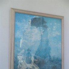 Vintage: LAMINA CON MARCO MADERA. Lote 49594319