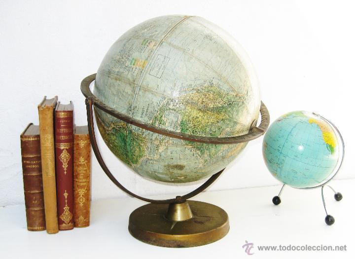 Gran bola del mundo globo terraqueo nordico lat comprar - Bola del mundo decoracion ...
