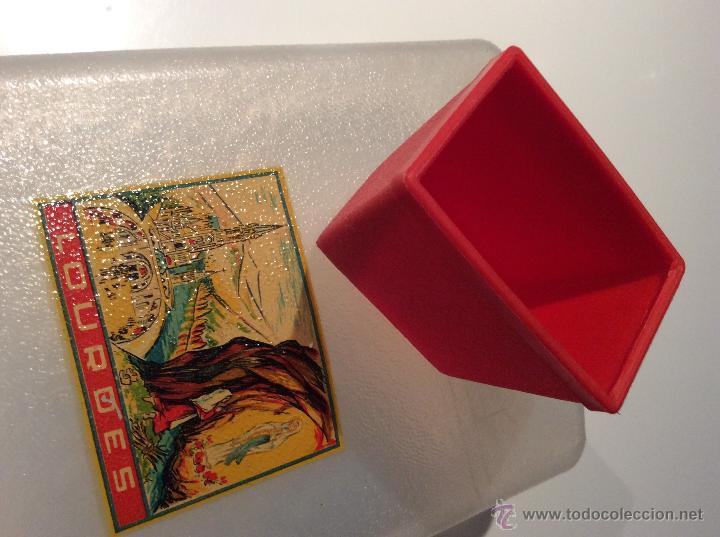 Vintage: Cantinplora años 60 viaje a Lourdes con vasito de plastico - Foto 4 - 49865828