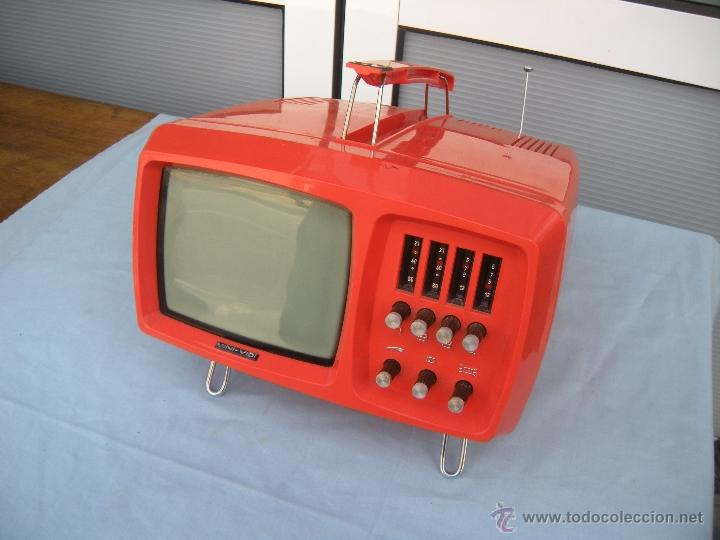 TELEVISOR PORTATIL MINI VIDE (Vintage - Varios)