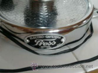 Vintage: CAFETERA ELÉCTRICA ELECTRO PRESS 125V. - Foto 3 - 50007920