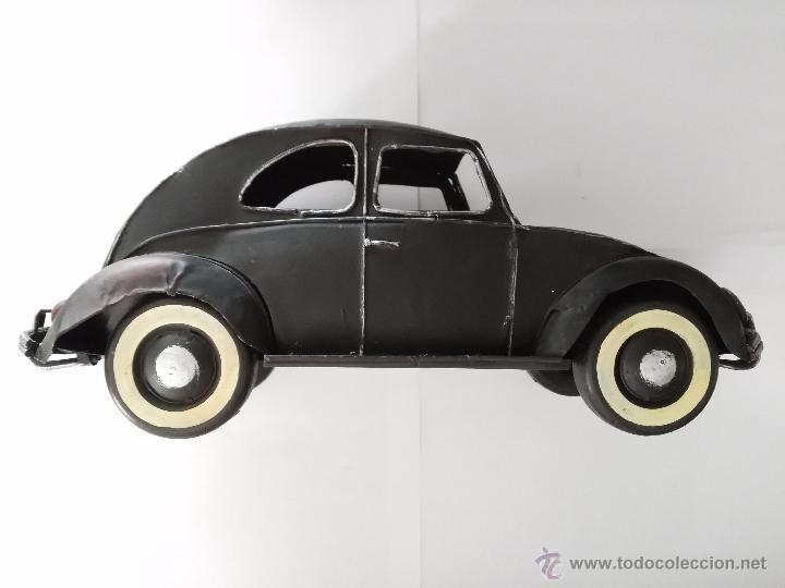 Vintage: Volkswagen Beetle 32,5 cm x 12 cm x 13 cm metal decoración - Foto 3 - 50034934