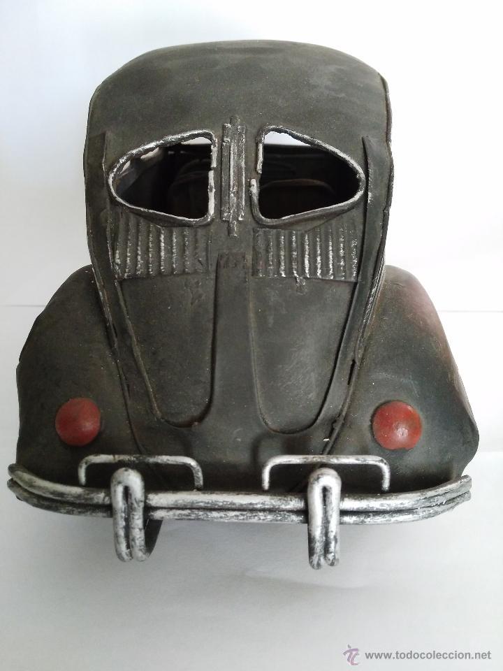 Vintage: Volkswagen Beetle 32,5 cm x 12 cm x 13 cm metal decoración - Foto 11 - 50034934