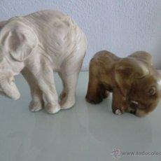 Vintage: PAREJA ELEFANTES.. Lote 50183918
