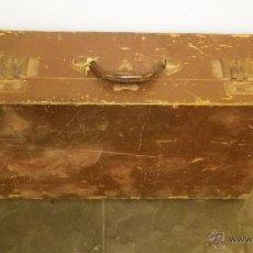 Vintage - maleta de madera antigua de los 60 - 50230174