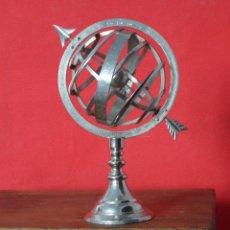 Vintage: GLOBO ESFERA ARMILAR DECORACION VINTAGE GLOBO DE METAL ACEPTO OFERTAS. Lote 50263553