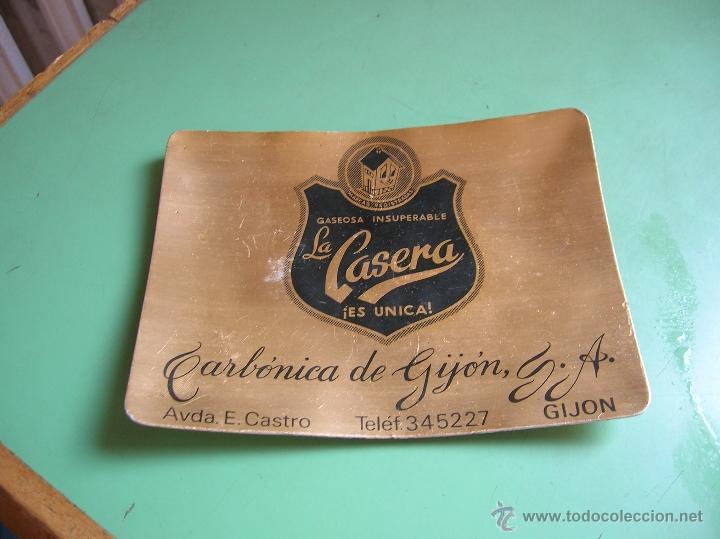 CENICERO GASEOSA LA CASERA.GIJÓN (Vintage - Decoración - Varios)